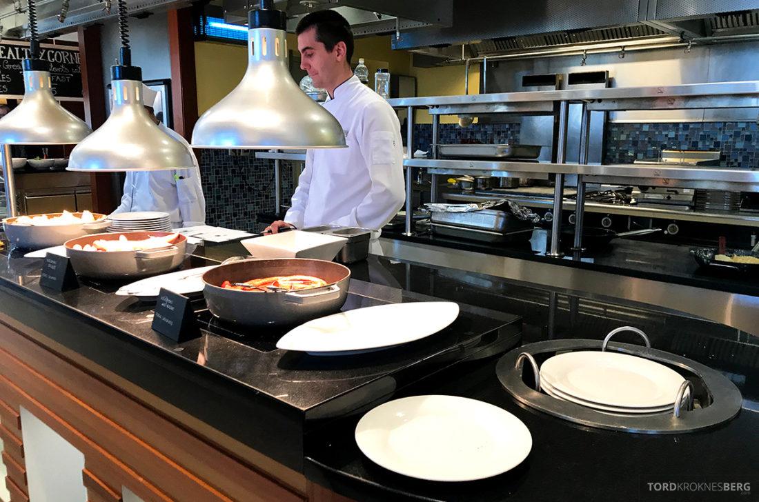 Sheraton Hotel Sopot kokk frokost