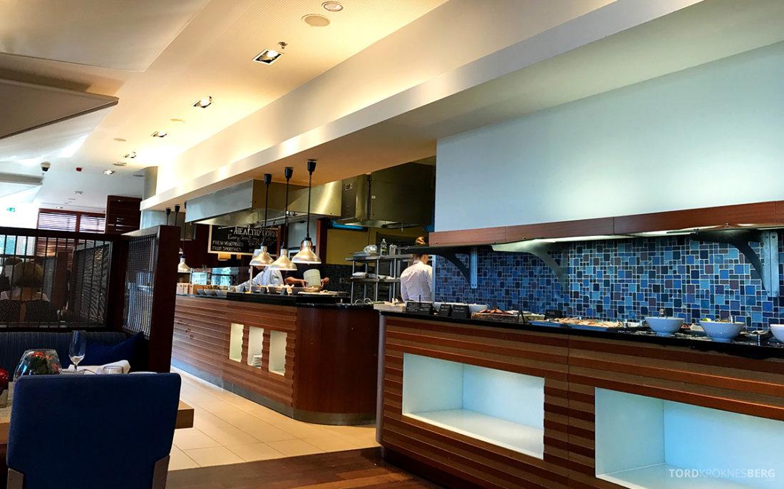 Sheraton Hotel Sopot oversikt buffet