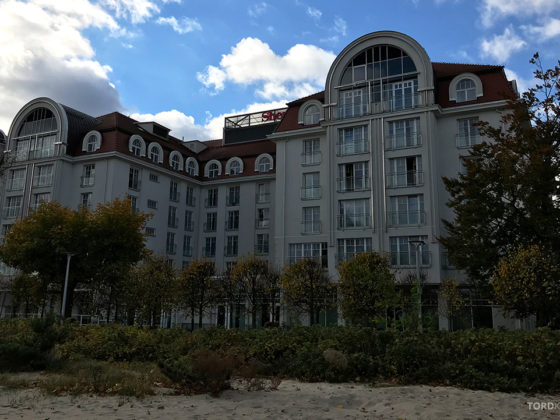 Sheraton Hotel Sopot fasade