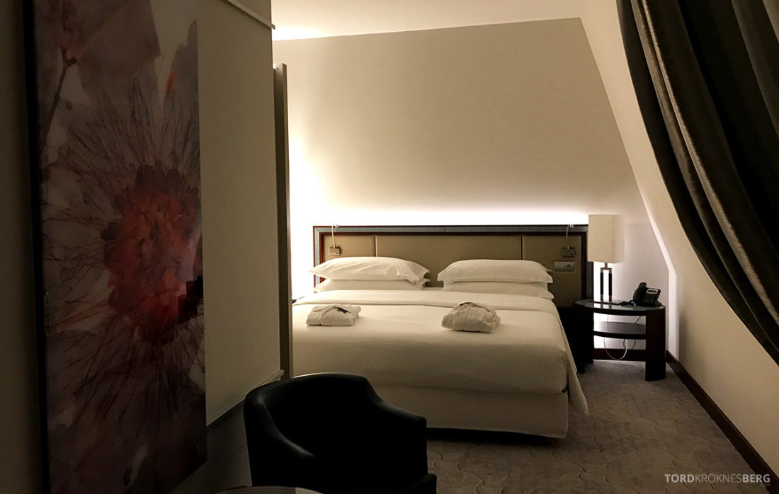 Sheraton Hotel Sopot suite soveværelse