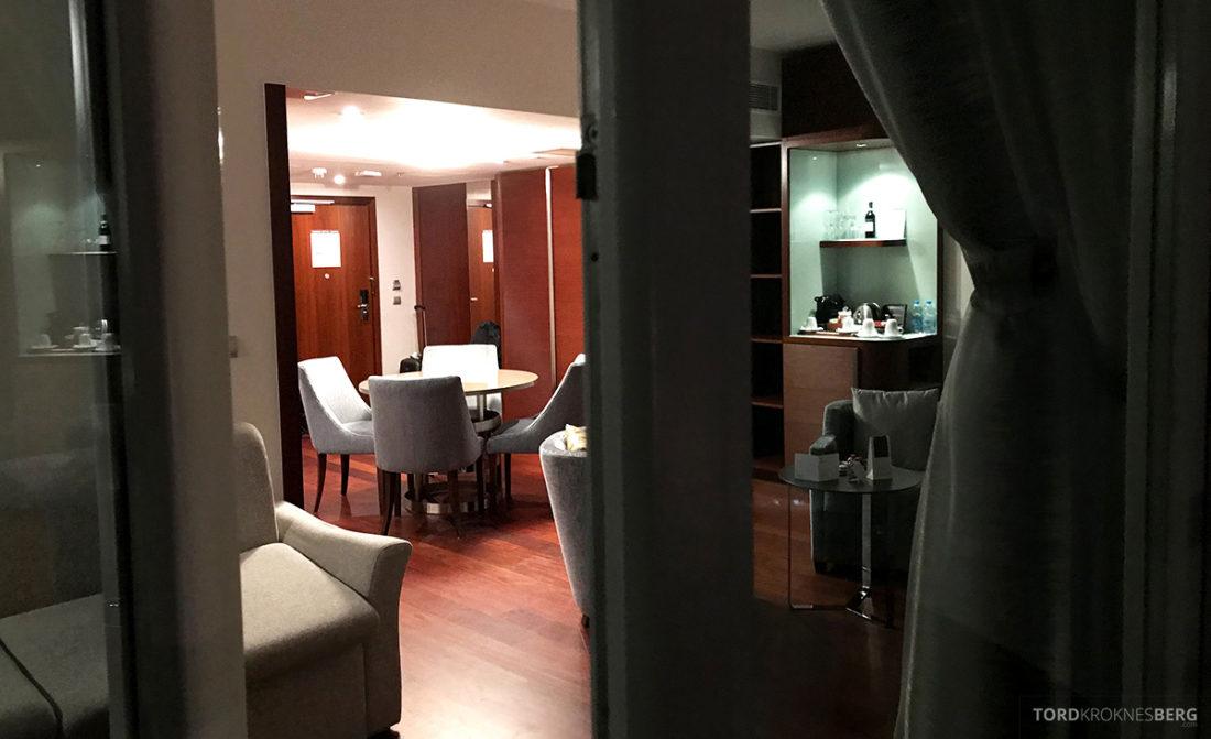 Sheraton Hotel Sopot utsikt inn fra balkong