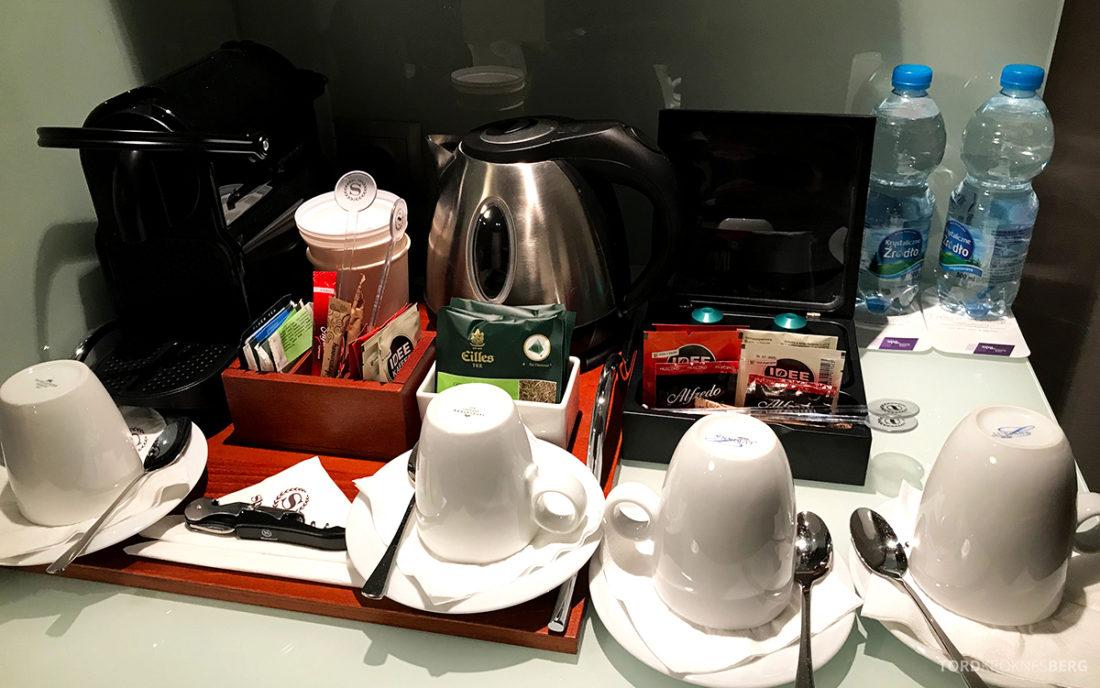 Sheraton Hotel Sopot kaffe og te
