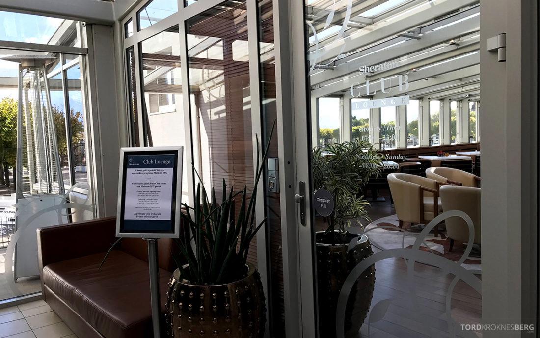 Sheraton Hotel Sopot Club Lounge inngang
