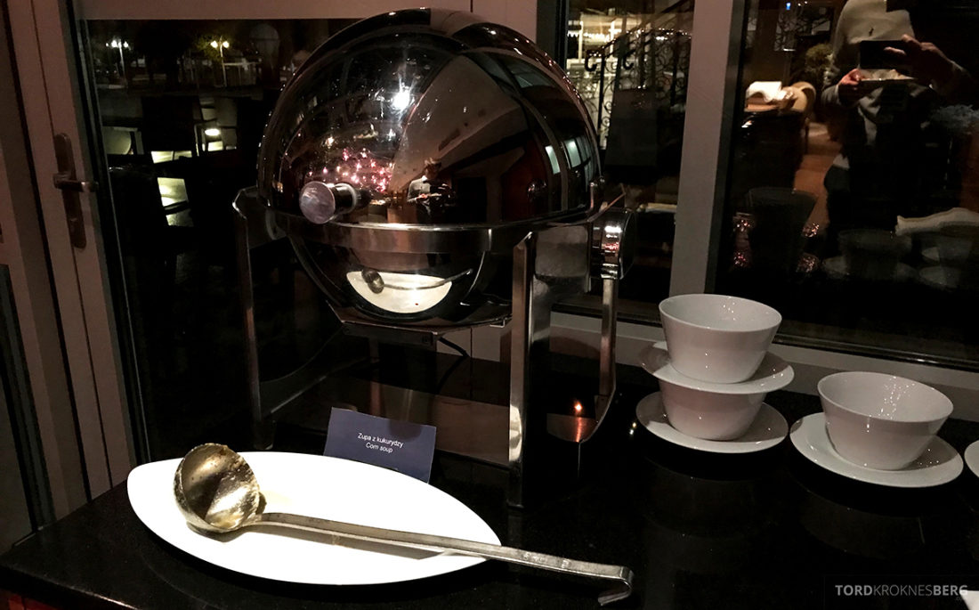 Sheraton Hotel Sopot Club Lounge hors d'oeuvre suppe