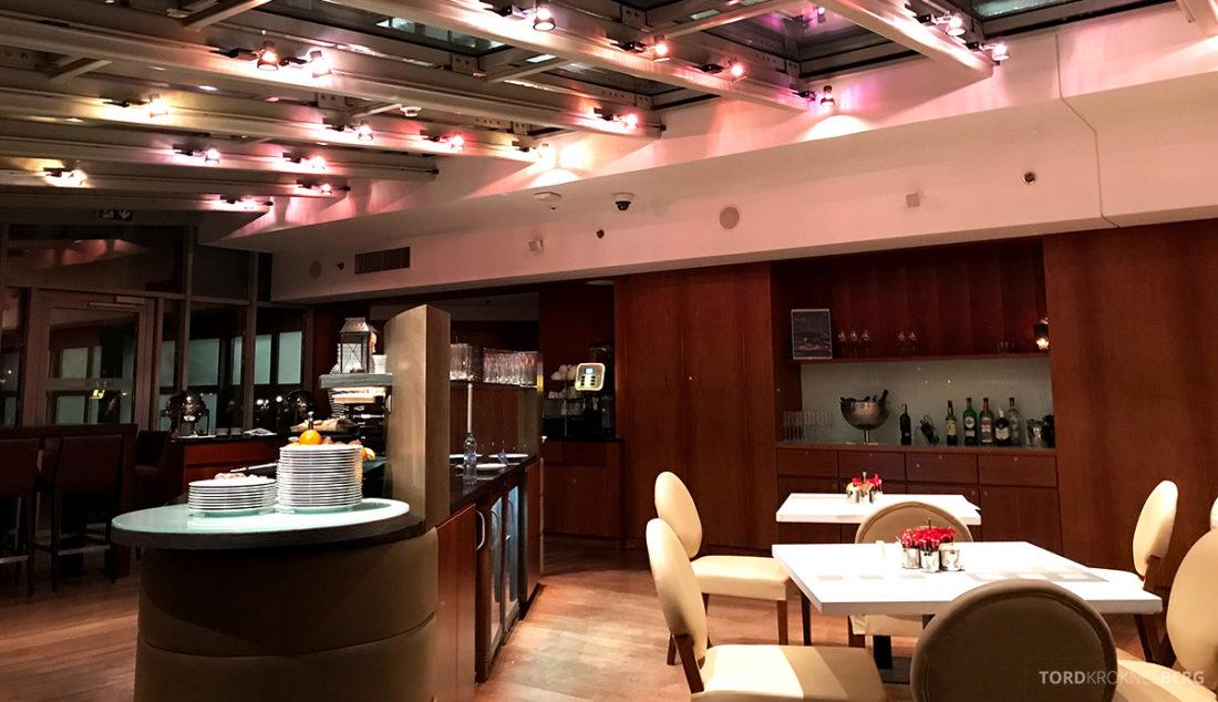 Sheraton Hotel Sopot Club Lounge hors d'oeuvre oversikt