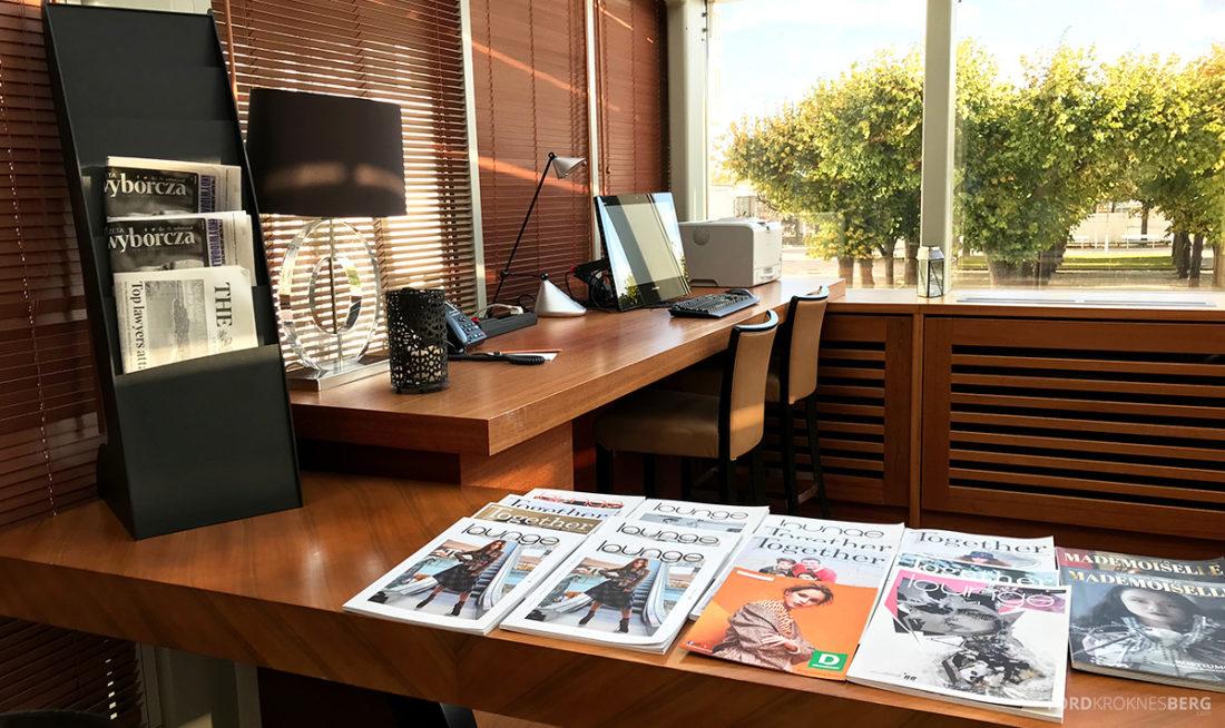 Sheraton Hotel Sopot Club Lounge datakrok og magasiner