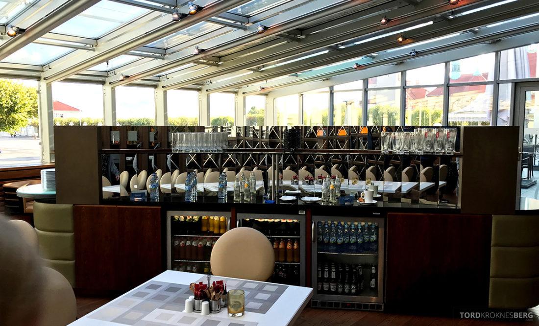 Sheraton Hotel Sopot Club Lounge buffet