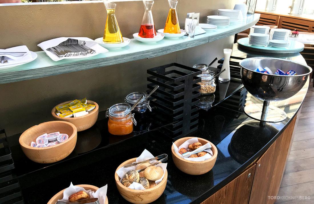 Sheraton Hotel Sopot Club Lounge frokost