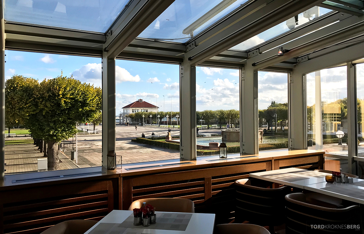 Sheraton Hotel Sopot Club Lounge utsikt