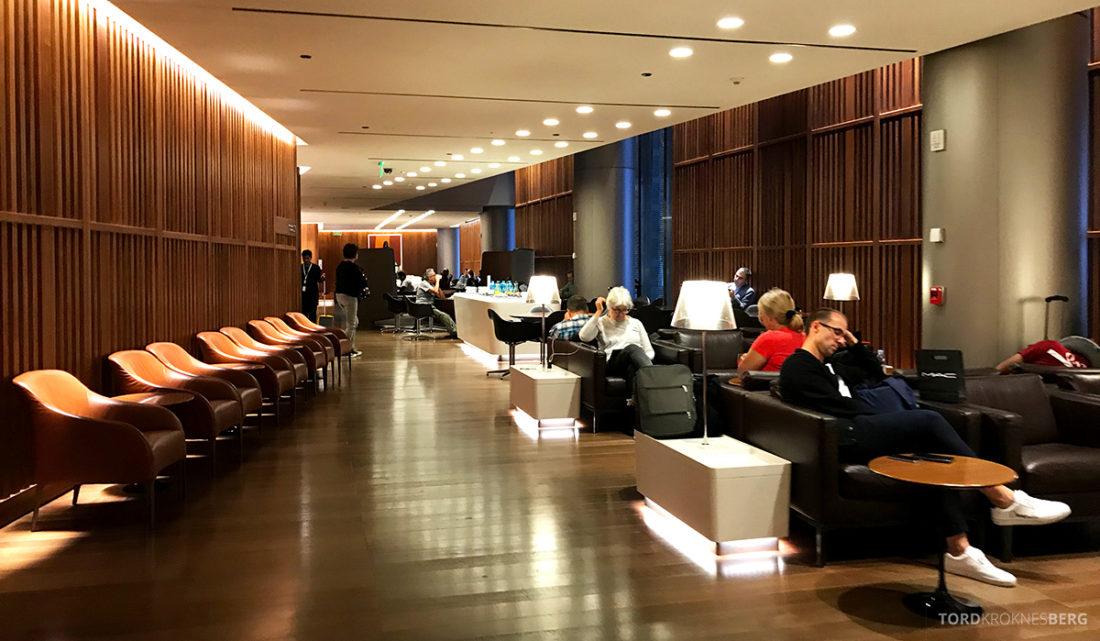 Oryx Business Lounge Doha oversikt