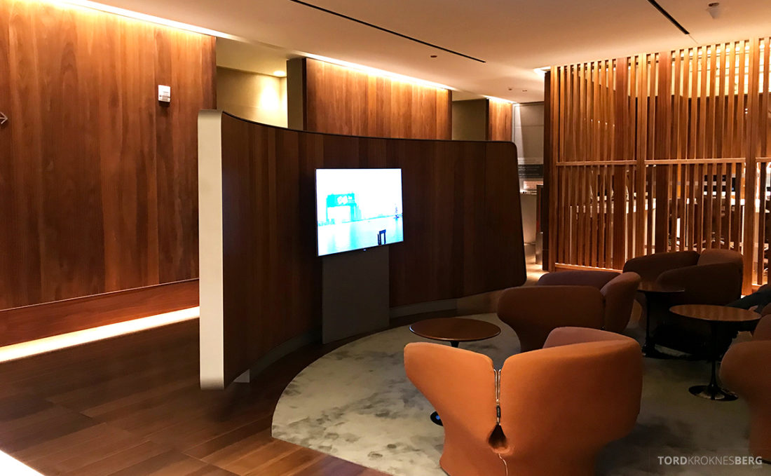 Oryx Business Lounge Doha TV-krok