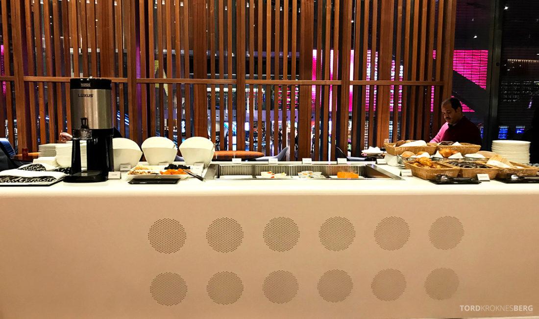 Oryx Business Lounge Doha bakst