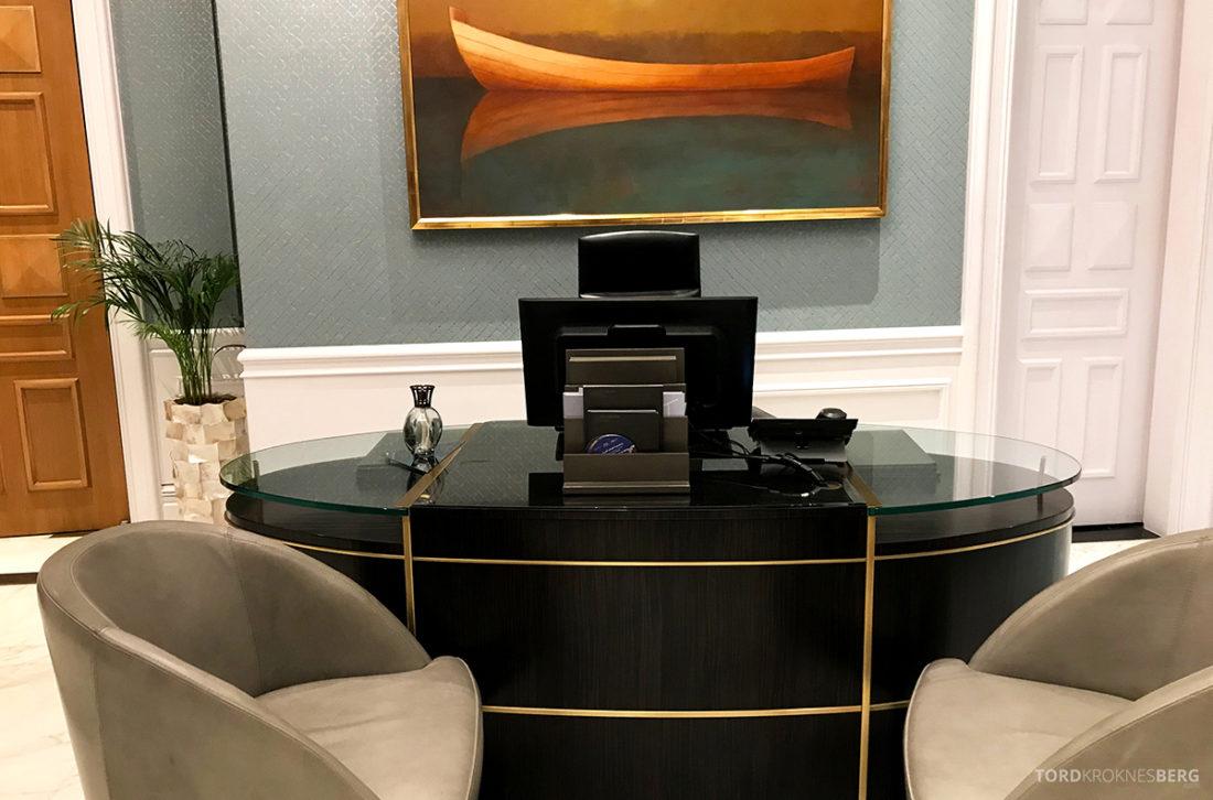 Ritz-Carlton Doha Club Lounge resepsjon
