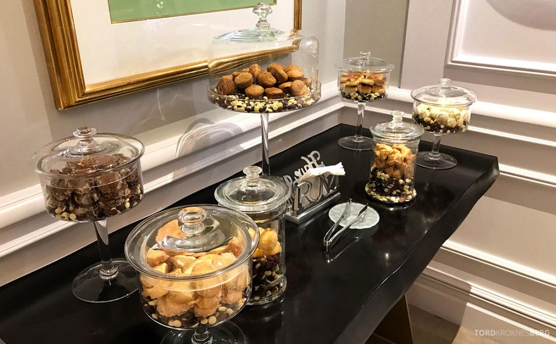 Ritz-Carlton Doha Club Lounge kjeks