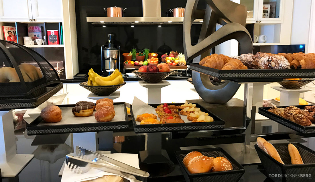 Ritz-Carlton Doha Club Lounge frokostbrød