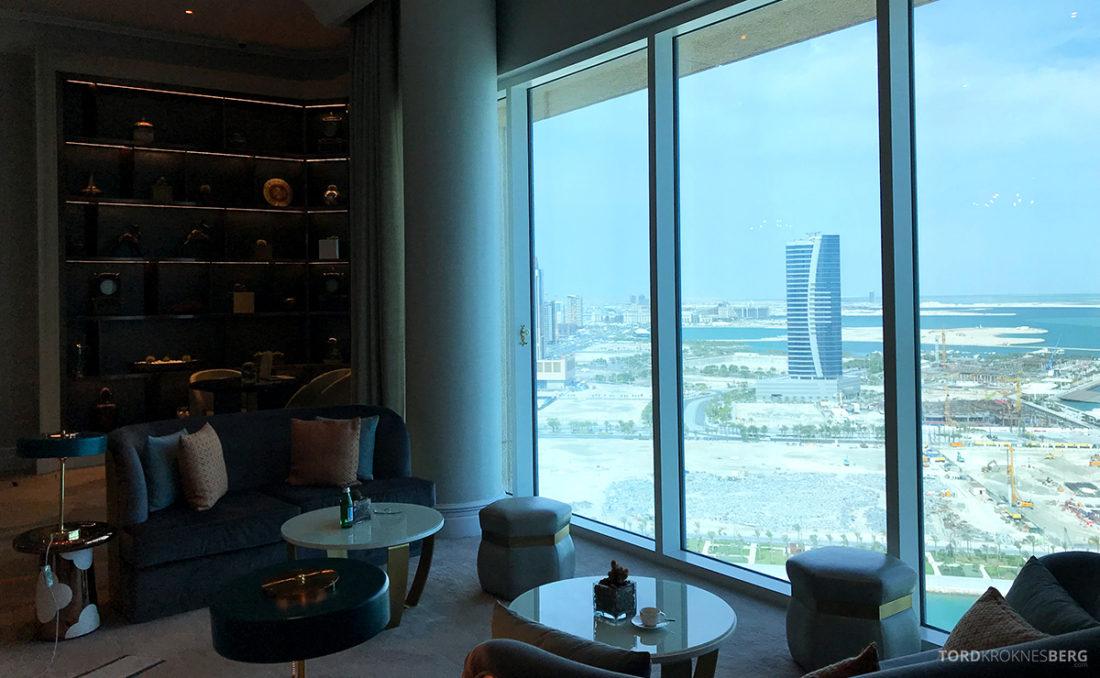 Ritz-Carlton Doha Club Lounge vindu