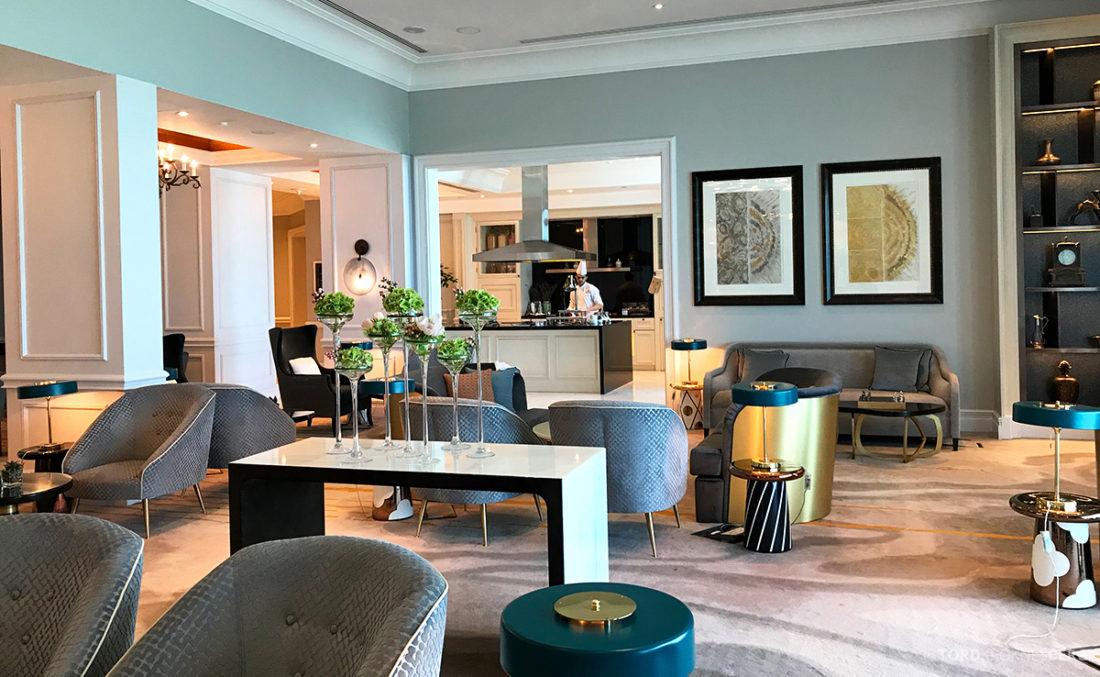 Ritz-Carlton Doha Club Lounge kokk