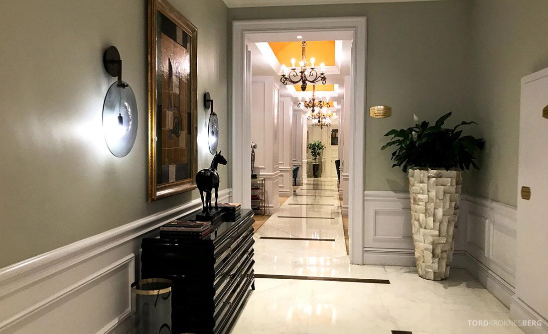 Ritz-Carlton Doha Club Lounge korridor