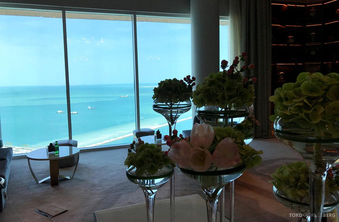 Ritz-Carlton Doha Club Lounge dekor
