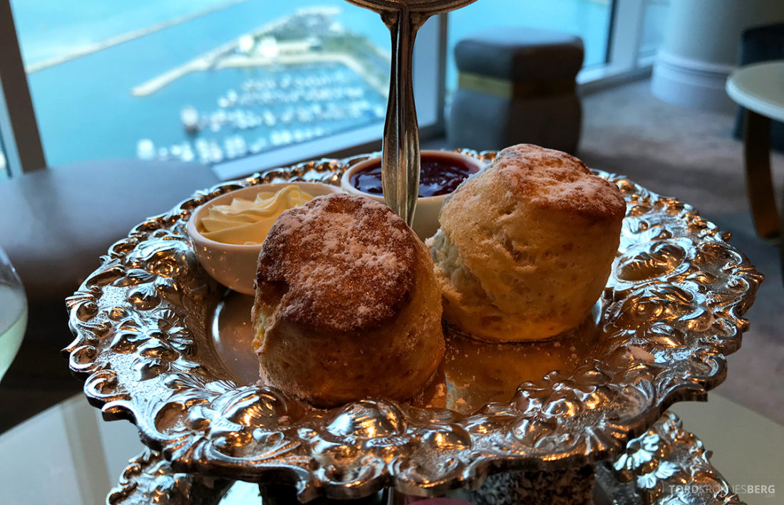 Ritz-Carlton Doha Club Lounge scones