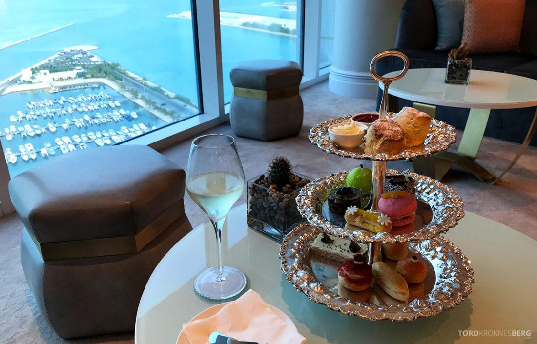 Ritz-Carlton Doha Club Lounge afternoon tea