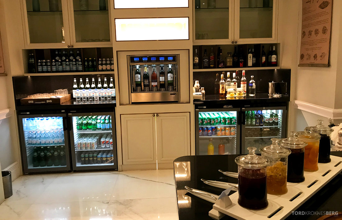 Ritz-Carlton Doha Club Lounge drikke
