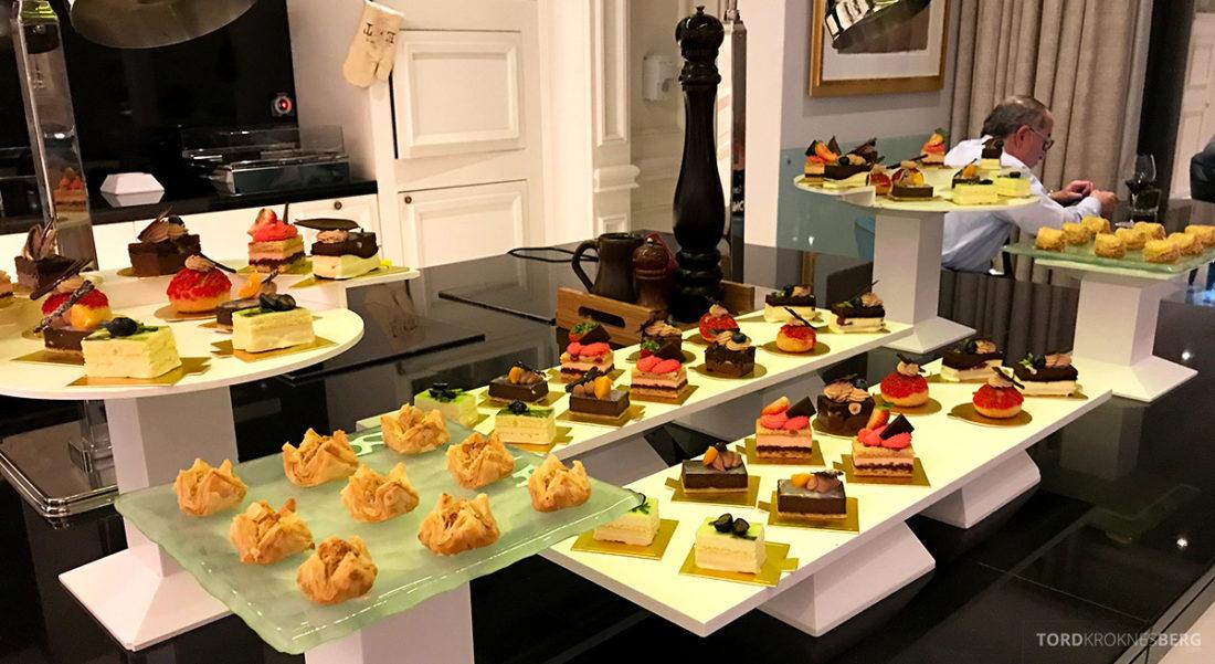 Ritz-Carlton Doha Club Lounge dessert