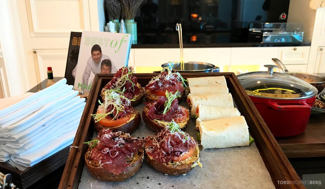 Ritz-Carlton Doha Club Lounge lunchretter