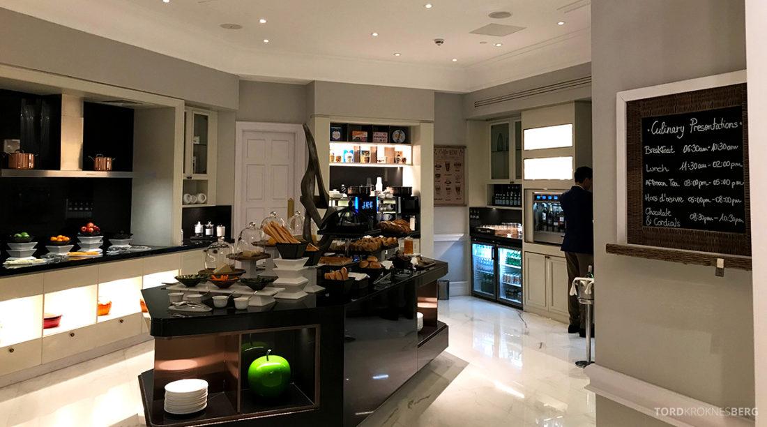 Ritz-Carlton Doha Club Lounge oversikt