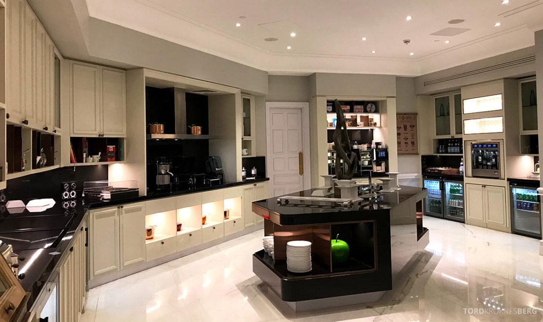 Ritz-Carlton Doha Club Lounge buffetområde