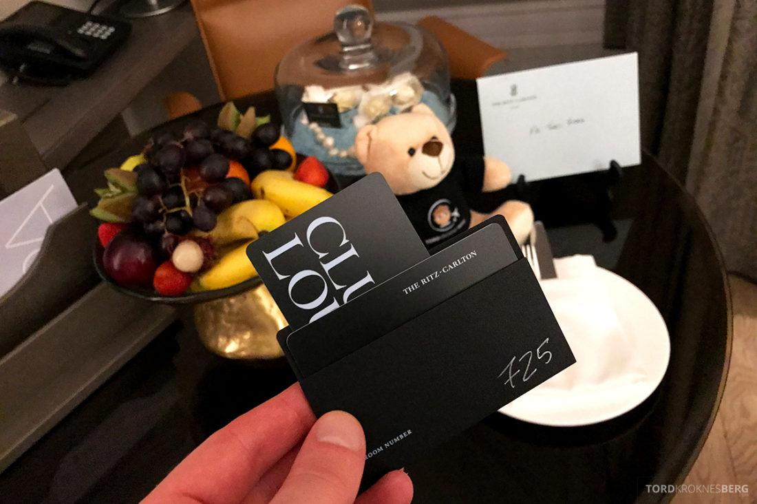 Ritz-Carlton Doha Hotel club room