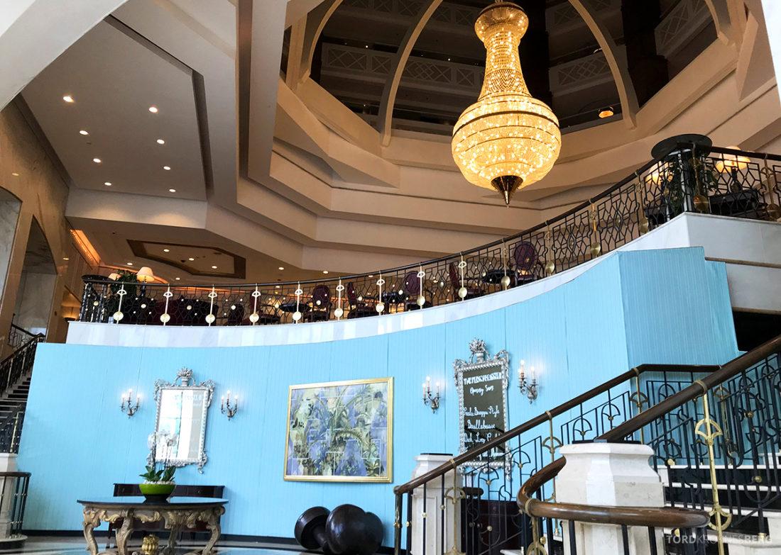 Ritz-Carlton Doha Hotel lobby
