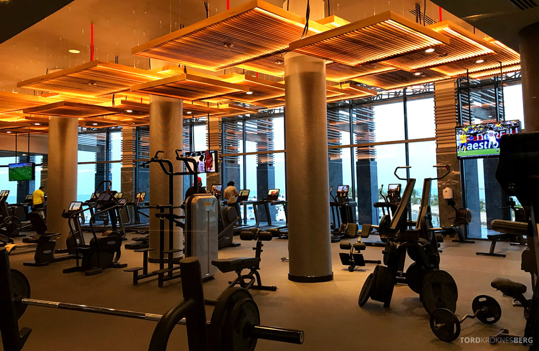 Ritz-Carlton Doha Hotel gym