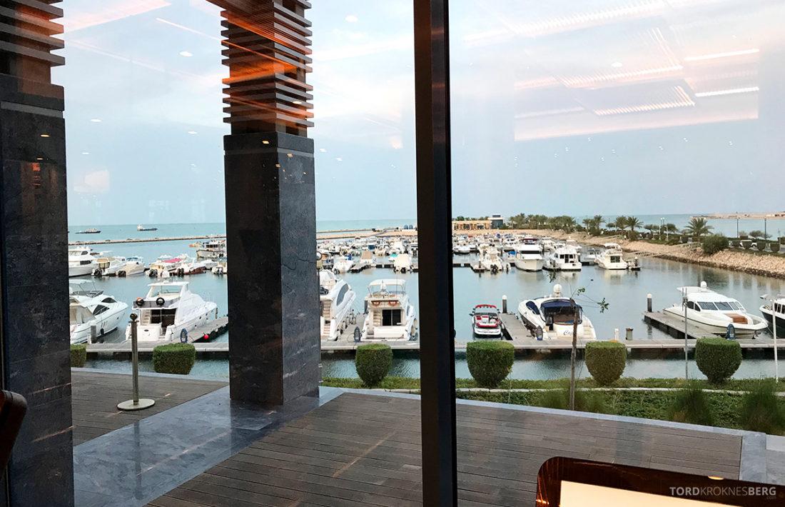 Ritz-Carlton Doha Hotel utsikt gym