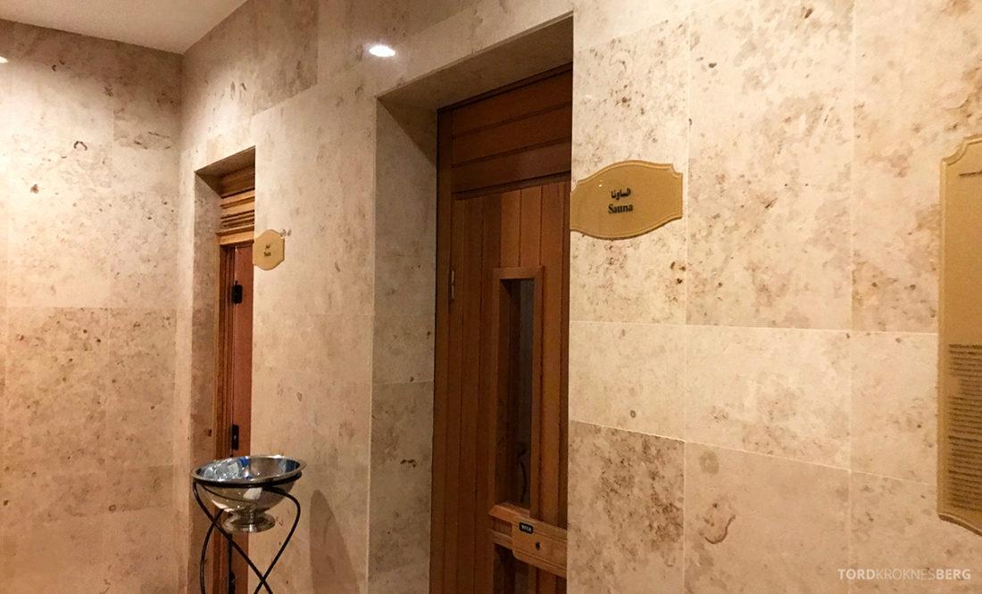 Ritz-Carlton Doha Hotel sauna