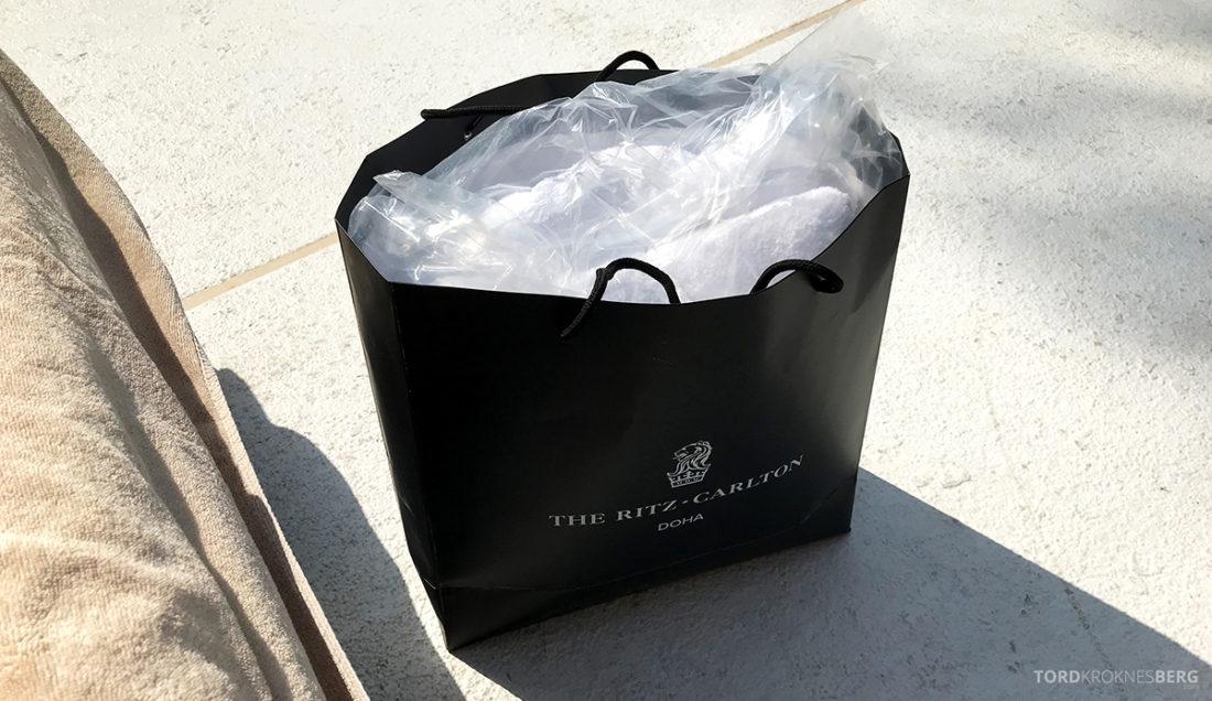 Ritz-Carlton Doha Hotel gave