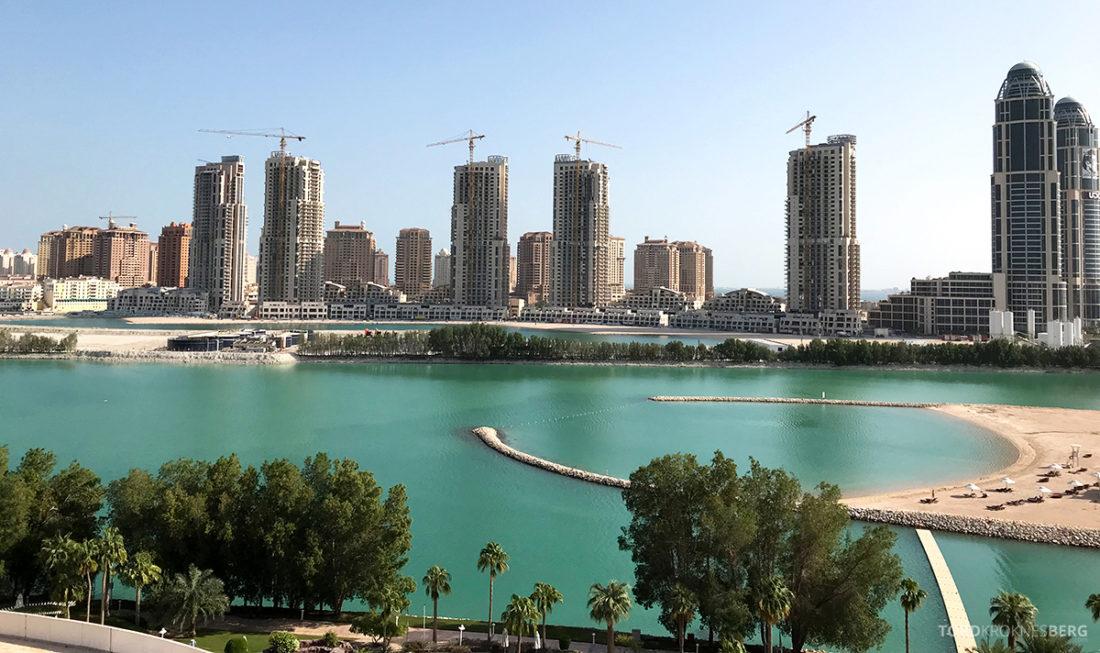 Ritz-Carlton Doha Hotel utsikt værelse
