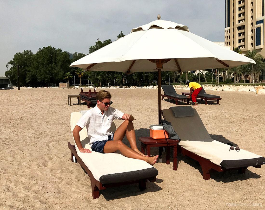 Ritz-Carlton Doha Hotel Tord Kroknes Berg strand