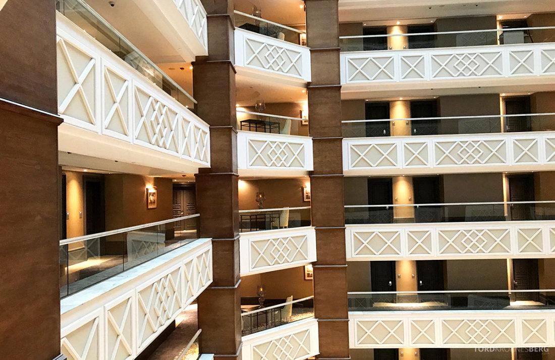 Ritz-Carlton Doha Hotel etasjer