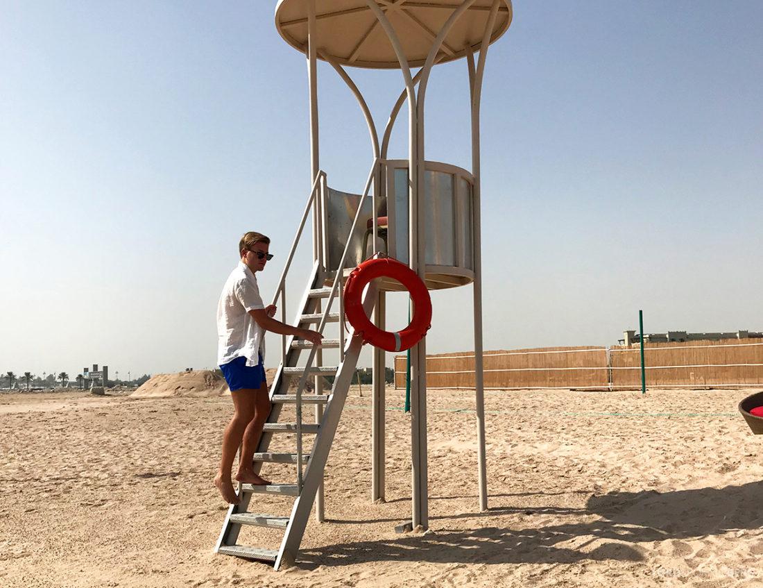 Ritz-Carlton Doha Hotel vakttårn Tord Kroknes Berg