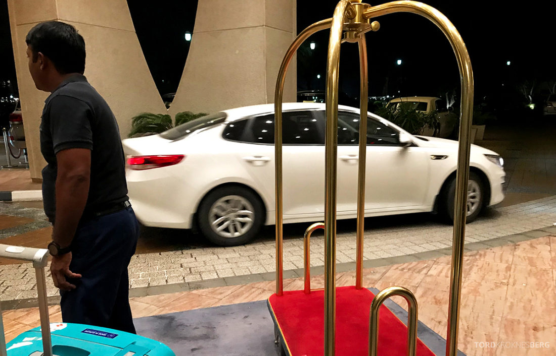 Ritz-Carlton Doha Hotel avskjed