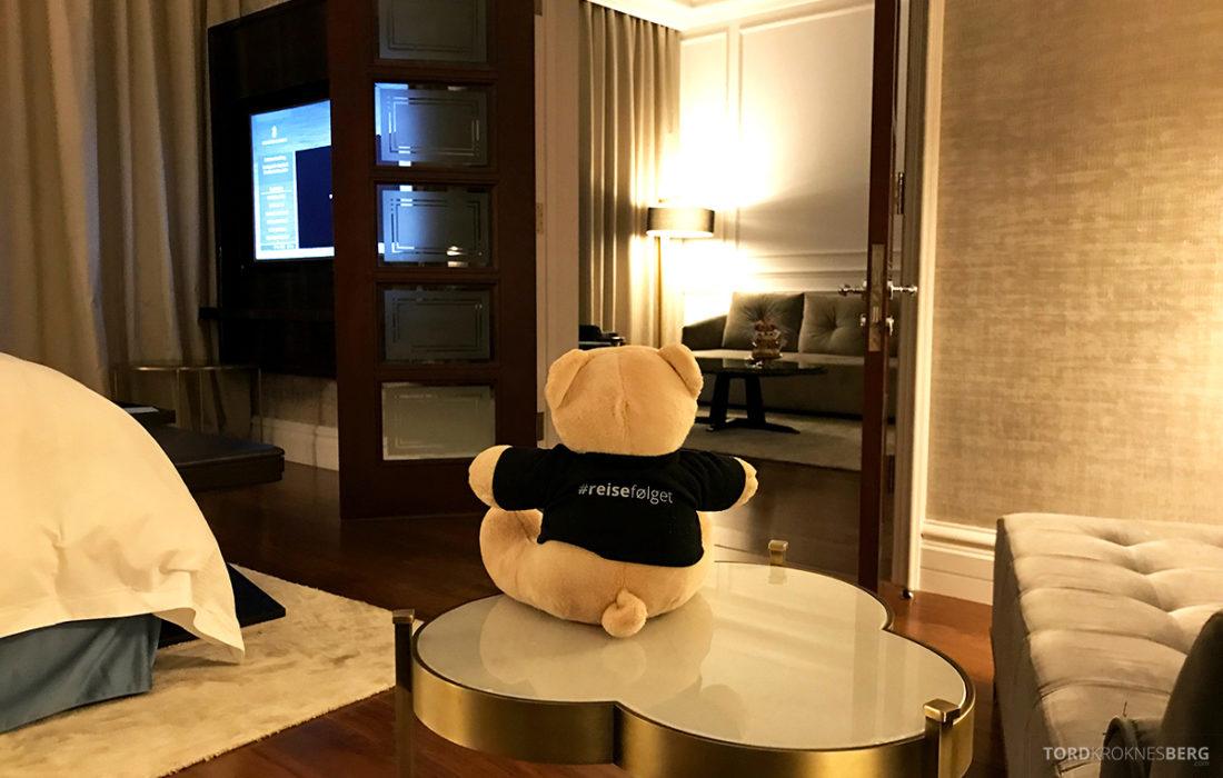 Ritz-Carlton Doha Hotel reisefølget utsikt suite