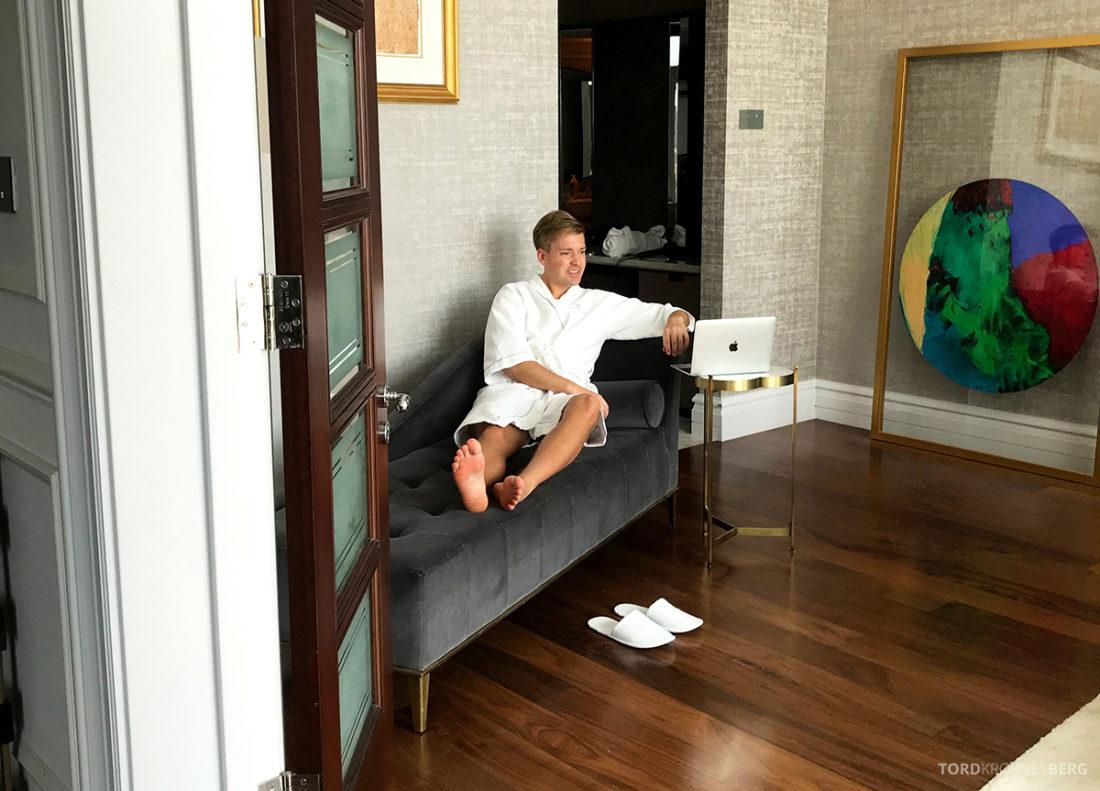 Ritz-Carlton Doha Hotel suite interiør