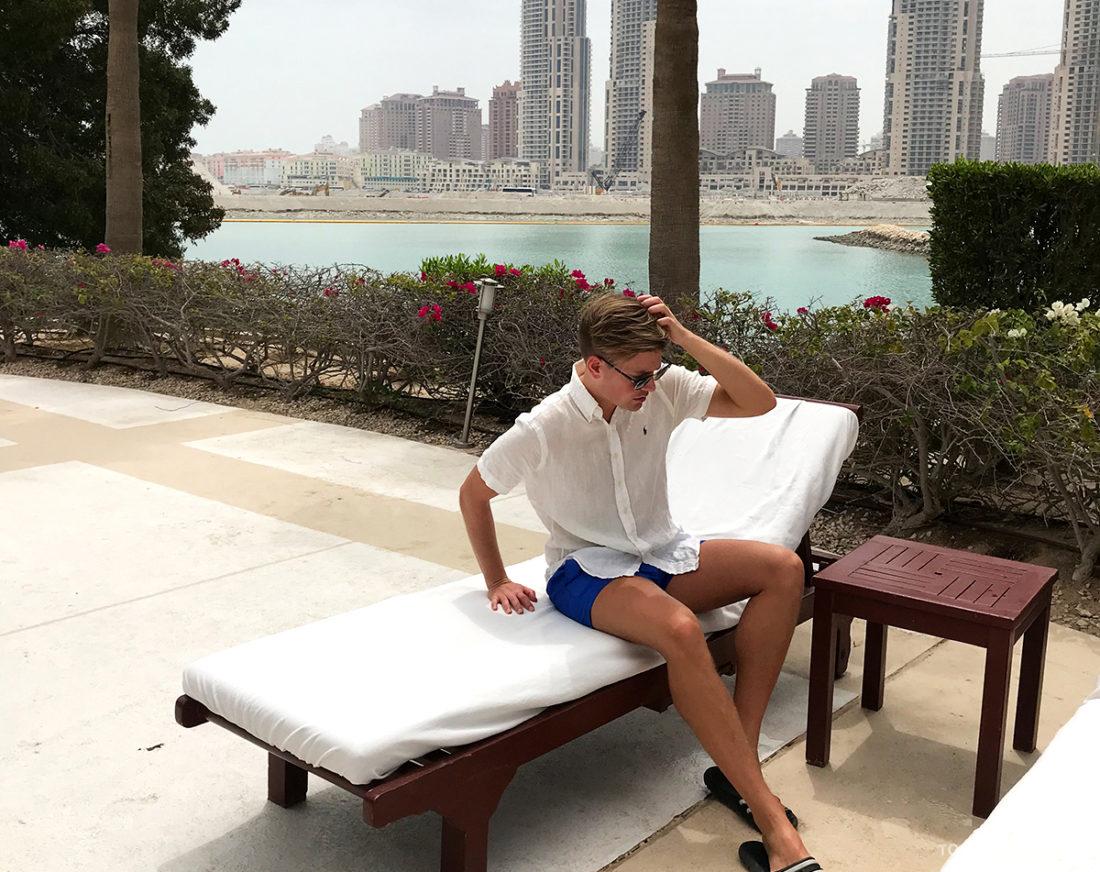 Ritz-Carlton Doha Hotel Tord Kroknes Berg solseng