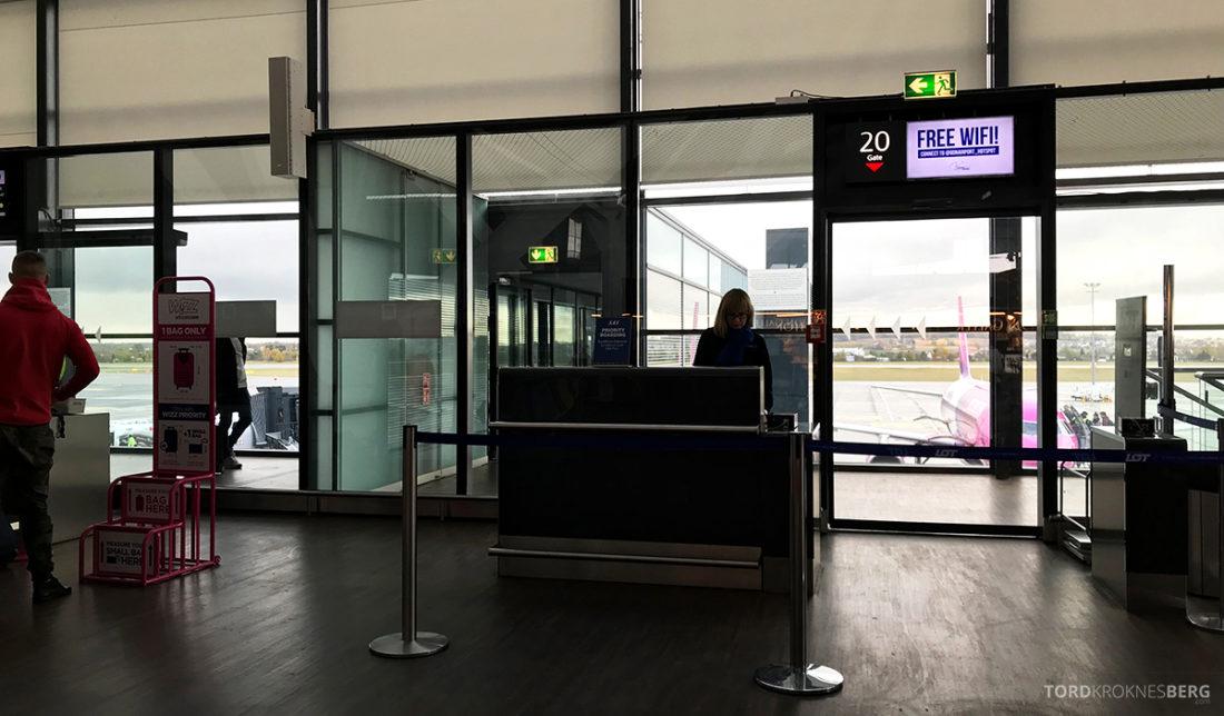 SAS Go Gdansk Oslo gate