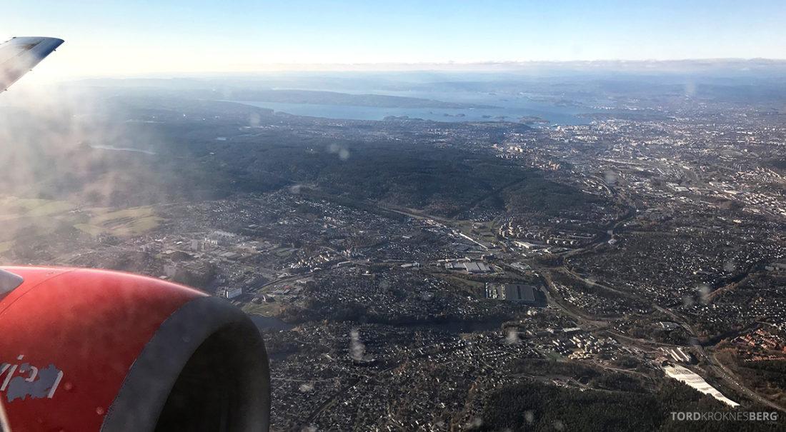 SAS Go Gdansk Oslo utsikt