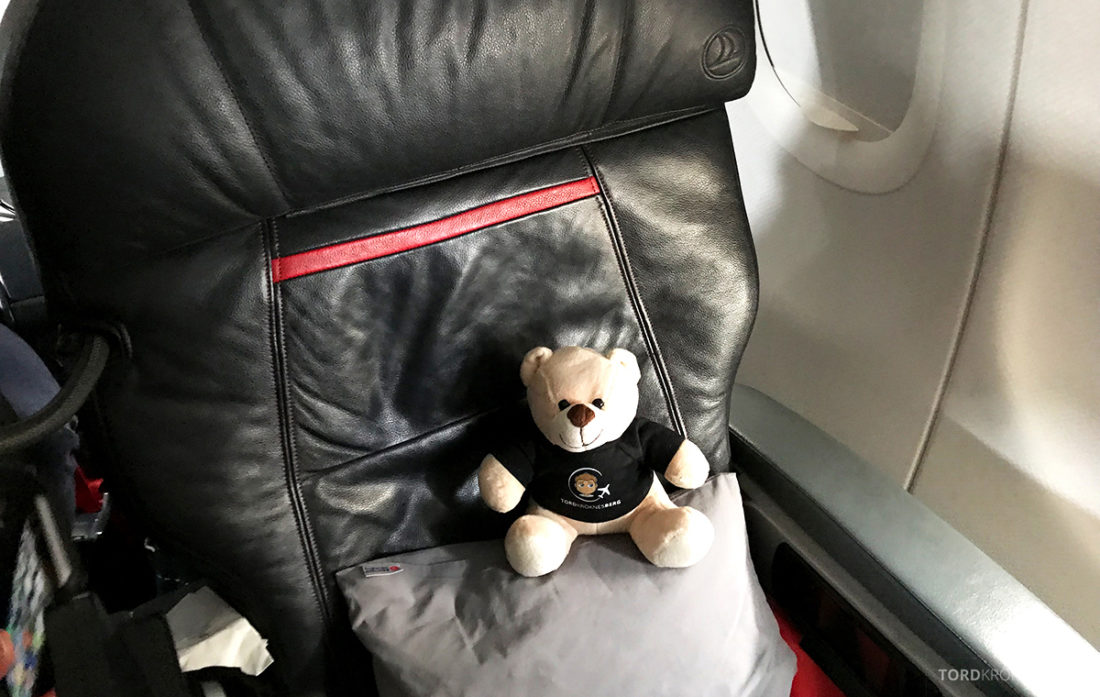 Turkish Airlines Business Class Doha Istanbul Oslo reisefølget