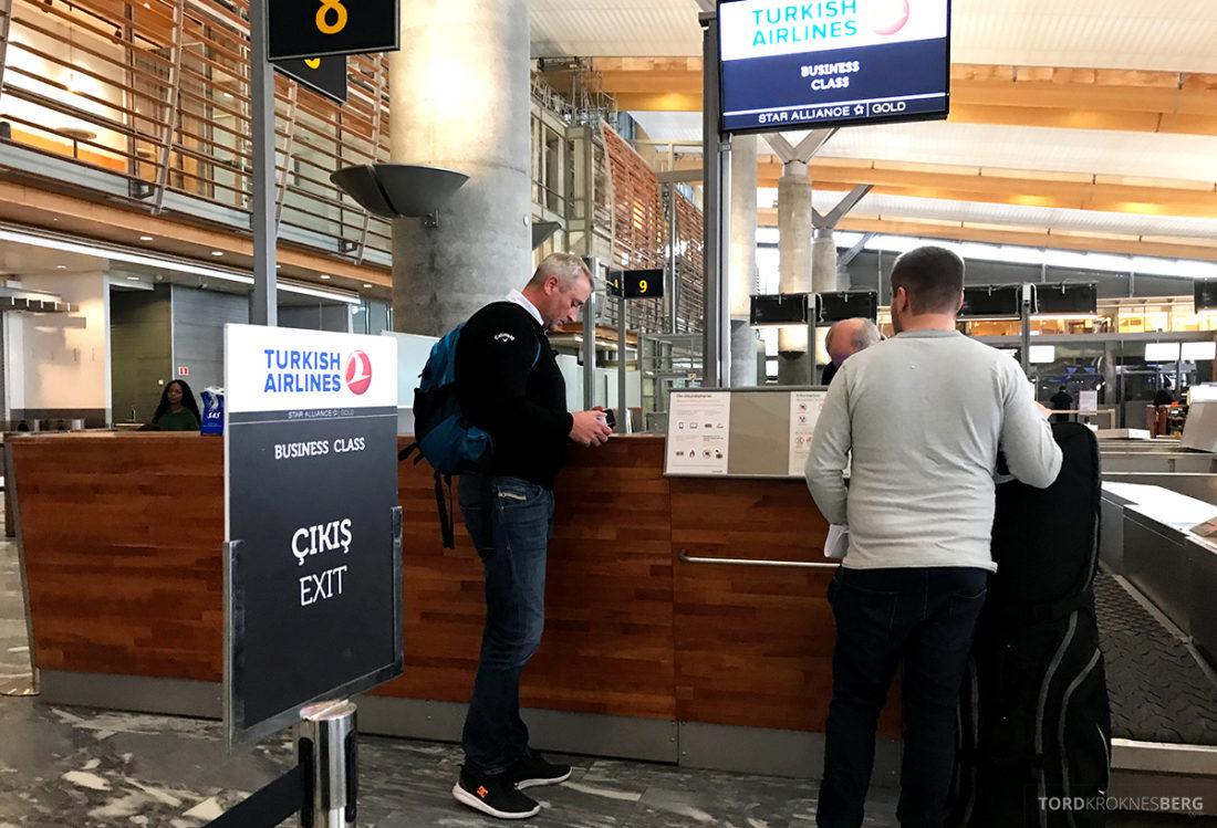 Turkish Airlines Economy Class OsloIstanbul Doha innsjekk