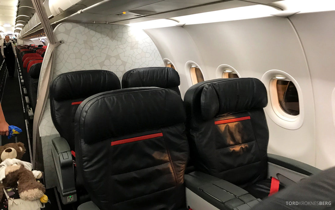 Turkish Airlines Economy Class Oslo Istanbul Doha business class gammel