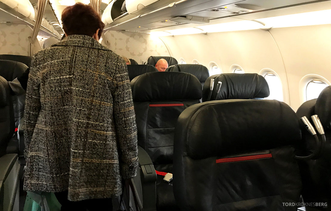 Turkish Airlines Economy Class Oslo Istanbul Doha business class